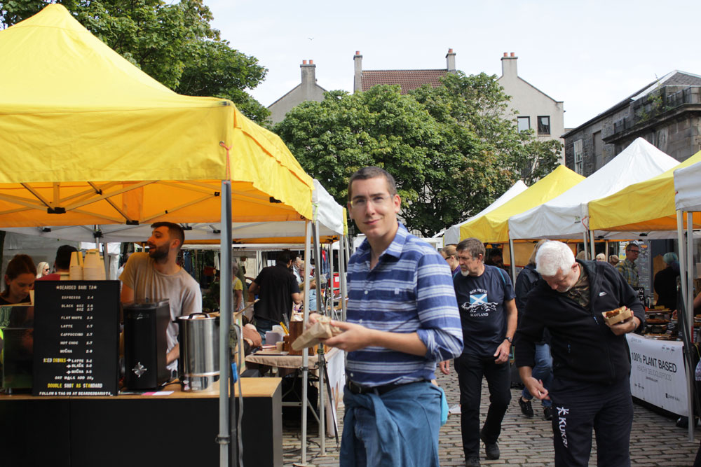David in the Market Platillo Crocante